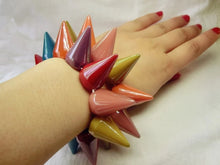 Load image into Gallery viewer, Acrylic Spike Bracelets