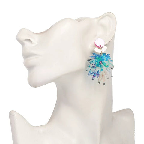 Pastel Burst Earrings