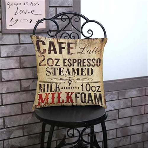 Vintage style Decorative throw pillow cover