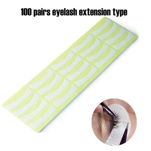 20 Pack Eyelash Under Eye Pads