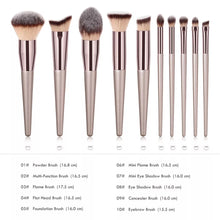 Load image into Gallery viewer, 10pc Cosmetic Brush Set
