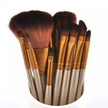 Load image into Gallery viewer, 12pc Makeup Brush Set