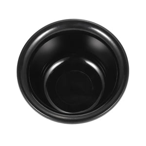 Black Plastic Shaving Bowl