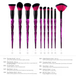 Makeup Brushes 10pcs Cosmetic Brushes