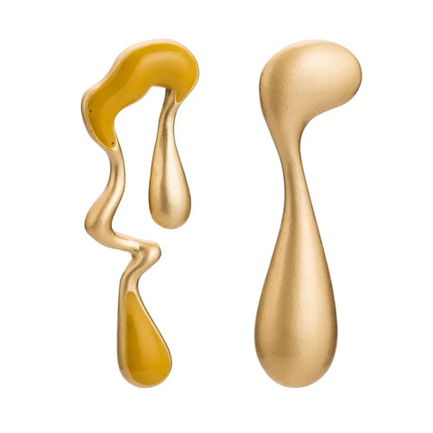 Golden Drip Earrings