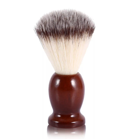 Men's Shaving Brush with Wood Handle