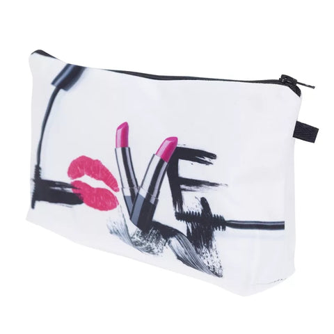 Love Cosmetic Organizer Bag