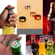 Load image into Gallery viewer, Stainless Steel Ring-Shape Beer Bottle Opener