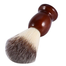 Load image into Gallery viewer, Men's Shaving Brush with Wood Handle
