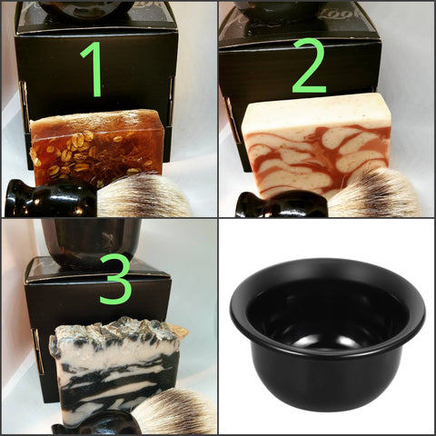 Beard Grooming Gift Set | Silver Bowl