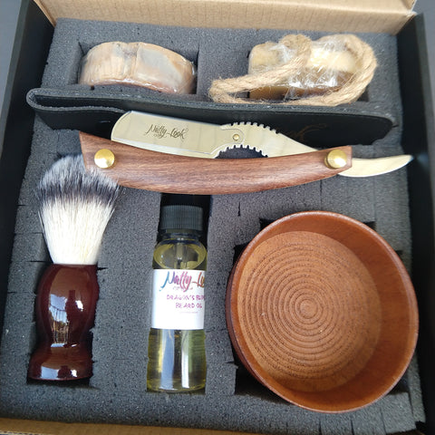 Deluxe Men's Grooming Gift Box