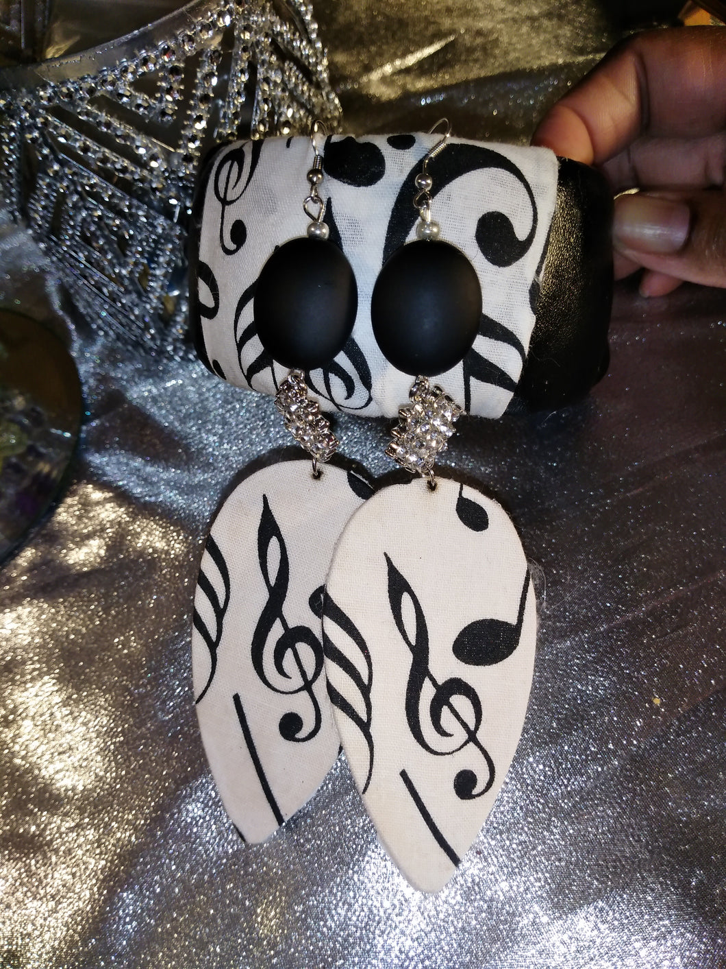 Melody Fabric Earrings