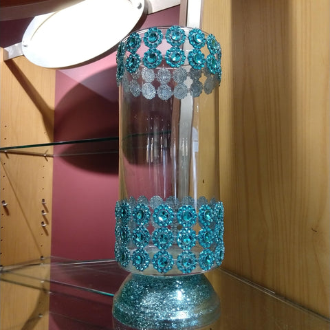 Turquoise Decorative Centerpiece