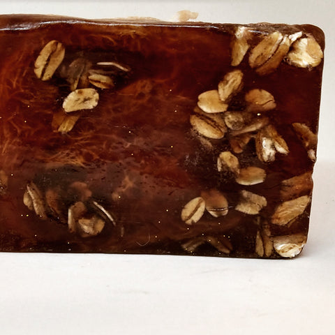 Honey Almond Oatmeal Raw African Black Soap