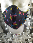 Rainbow Stars Face Mask