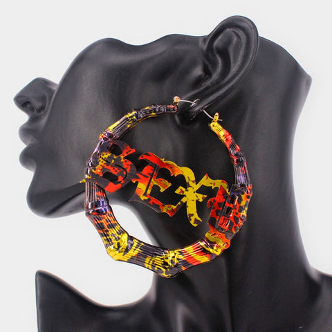 Sexy Multicolored Earrings