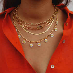 Nassau Gold Necklace