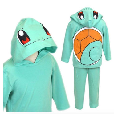 POKEMON Squirtle Hoodie & Pants   (2 Size Options)