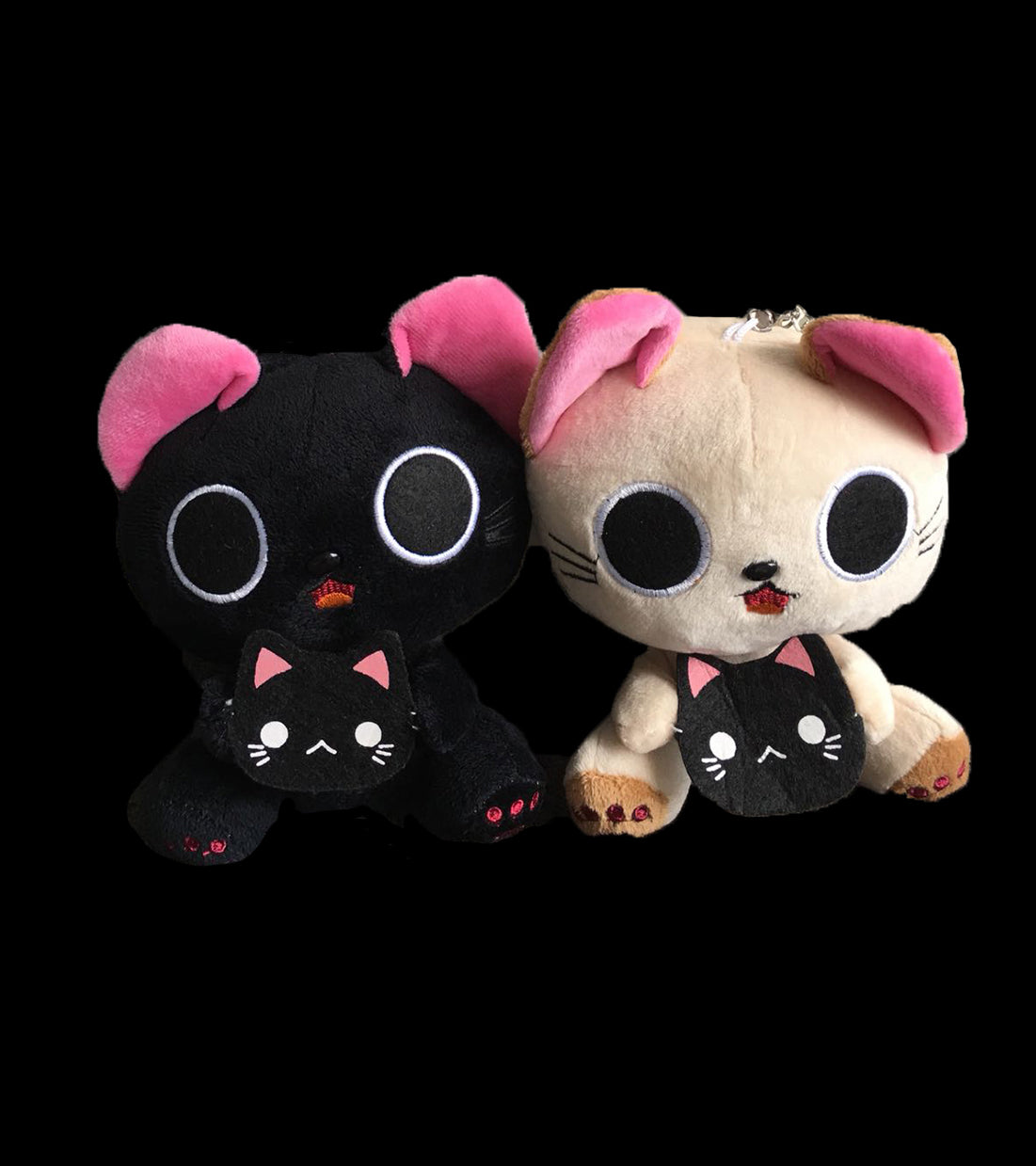 Cute Kittens Plush Pair