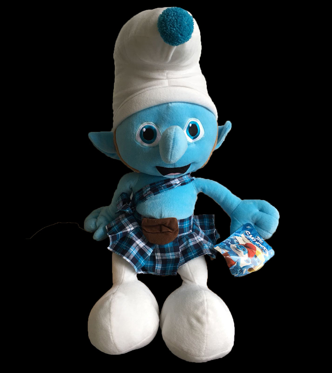 Gutsy Smurf - THE SMURFS Big Stuffed Plush
