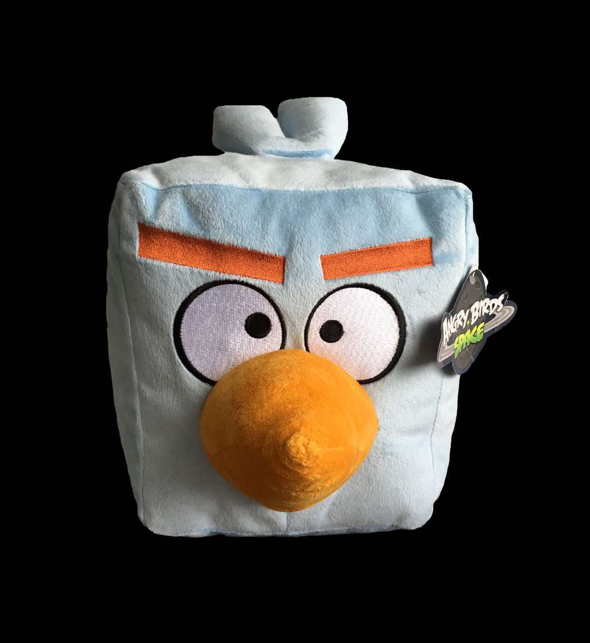 Big Ice - ANGRY BIRDS Black Stuffed Plush