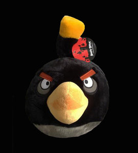 ANGRY BIRDS Black Stuffed Plush