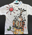 ELFIN DOLL Hand Draw Beetle T-Shirt