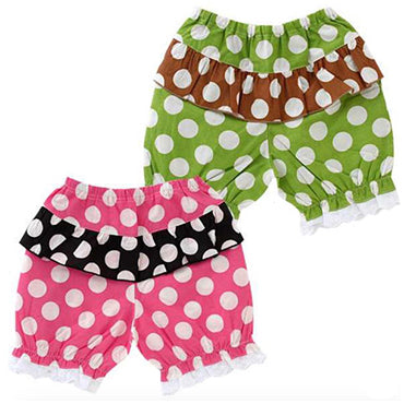 FARIO Polka Dot Shorts     (2 Colour Options)