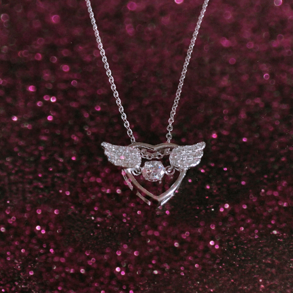 Love Angel Wings Necklace