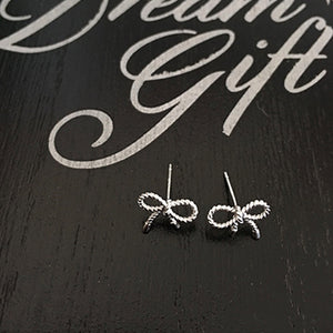 Ribbon Long Earrings