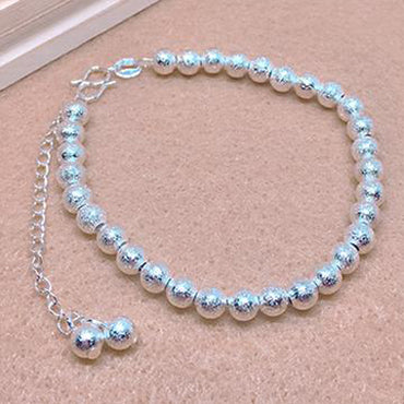 Special Frosted Ball Bracelet