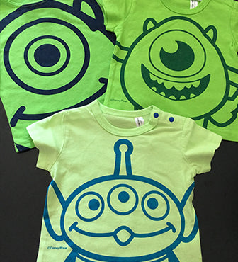 DISNEY PIXAR Monsters T-shirt (3 options)