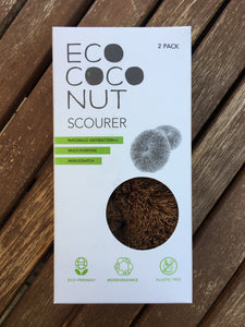 Plastic-free Coconut Scourer by EcoCoconut