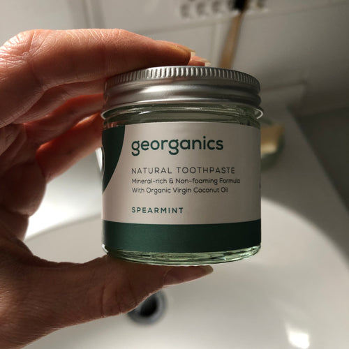 Plastic-free Natural Toothpaste by Georganics