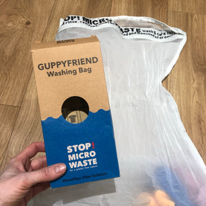 Guppyfriend Washing Bag to catch microfibres