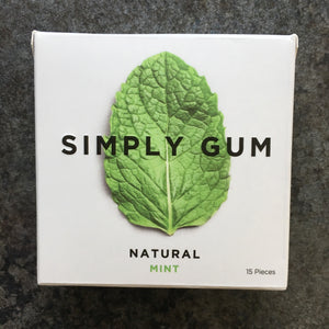 Plastic-free Chewing Gum by Simply Gum