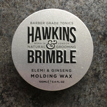 Load image into Gallery viewer, Plastic-free Hair Wax by Hawkins & Brimble