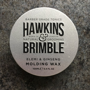 Plastic-free Hair Wax by Hawkins & Brimble