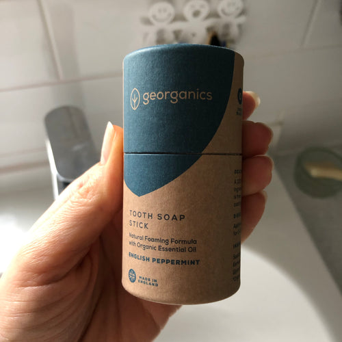 Plastic-free Toothsoap by Georganics