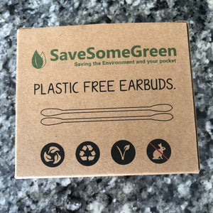 Plastic-free Cotton Buds by Save Some Green