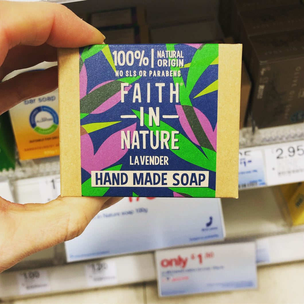 Plastic-free Soap by Faith in Nature