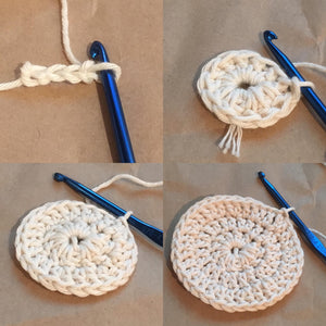 Make-Your-Own Crochet Face Scrubbies