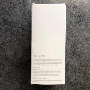 Plastic-free Rose Water facial toner by Poppy Austin