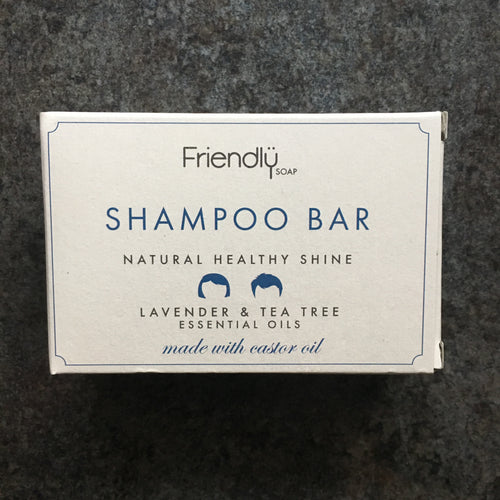 Solid Shampoo Bar by Friendly Soap