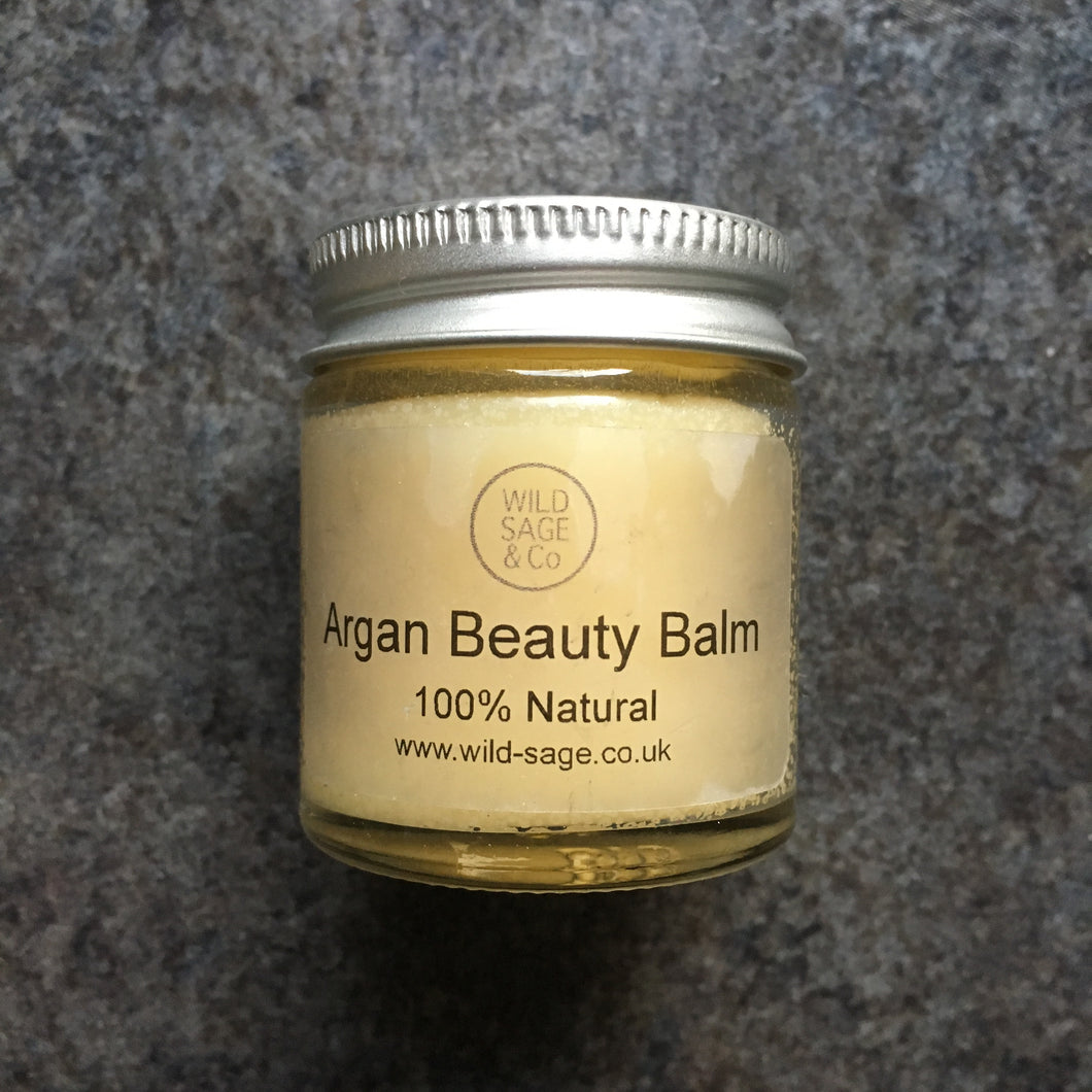 Plastic-free Argan Beauty Balm by Wild Sage & Co