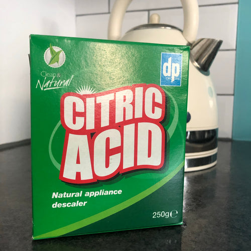 Plastic-free Citric Acid Descaler