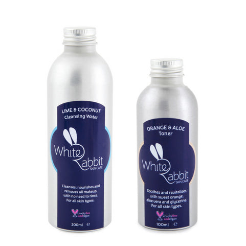Plastic-free Skincare by White Rabbit