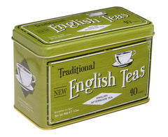 40 English Afternoon Teabag Tin