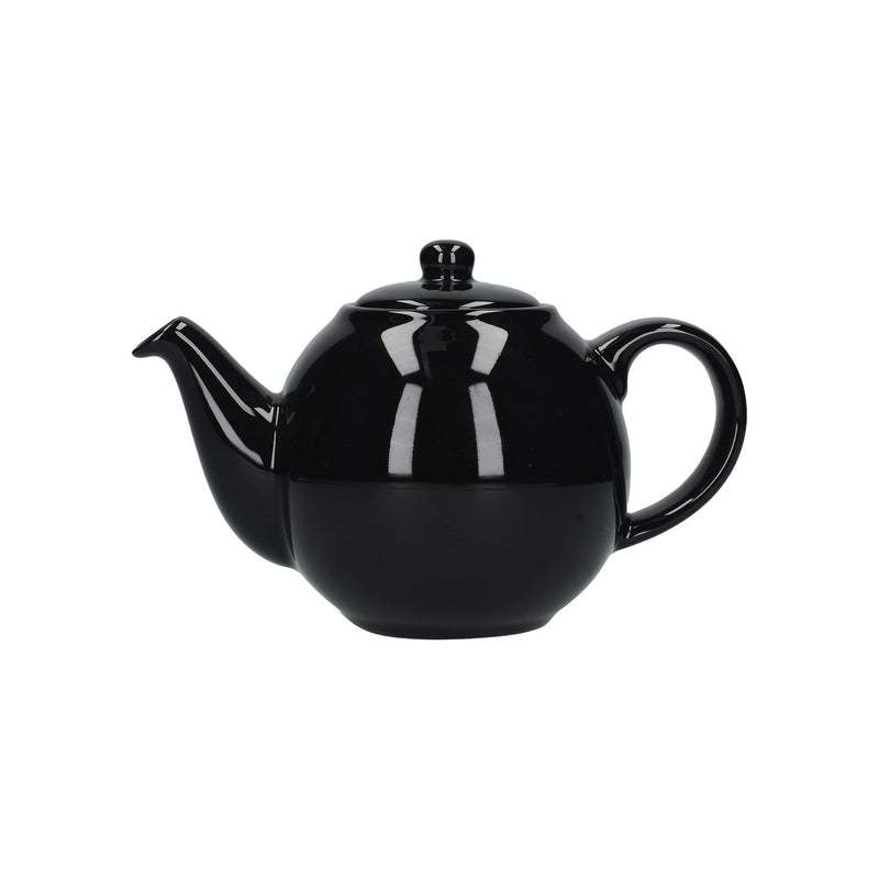 London Pottery Globe Teapot Gloss Black