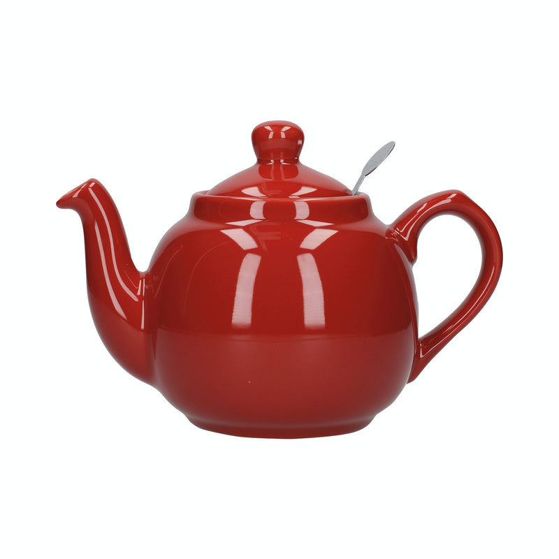 London Pottery Farmhouse Teapot Gloss Red